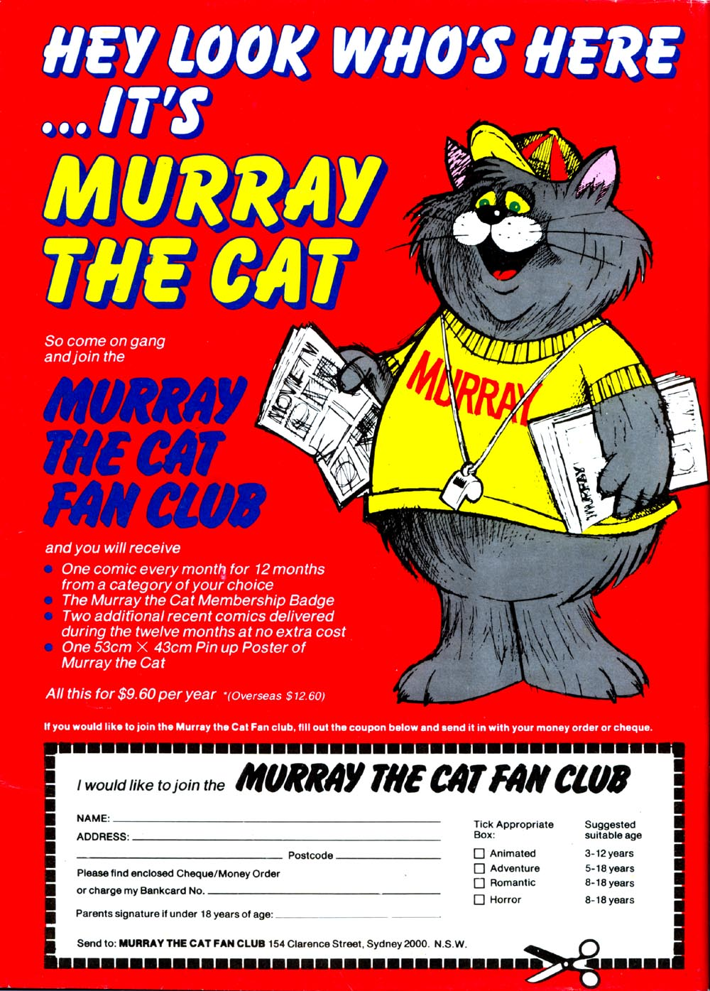 Murray the Cat Fan Club [red]