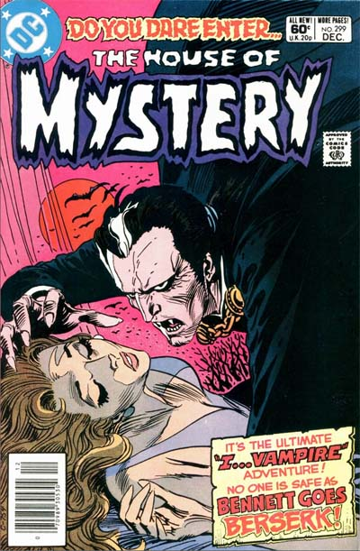 House of Mystery #299, December 1981 [DC]