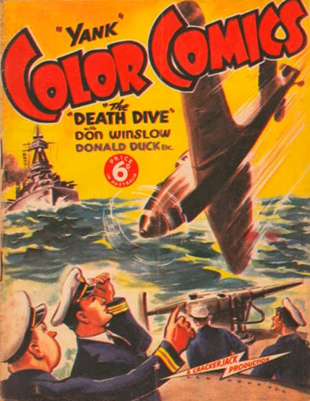 """Yank"" Color Comics"