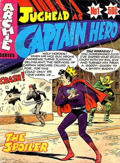 Jughead as Captain Hero