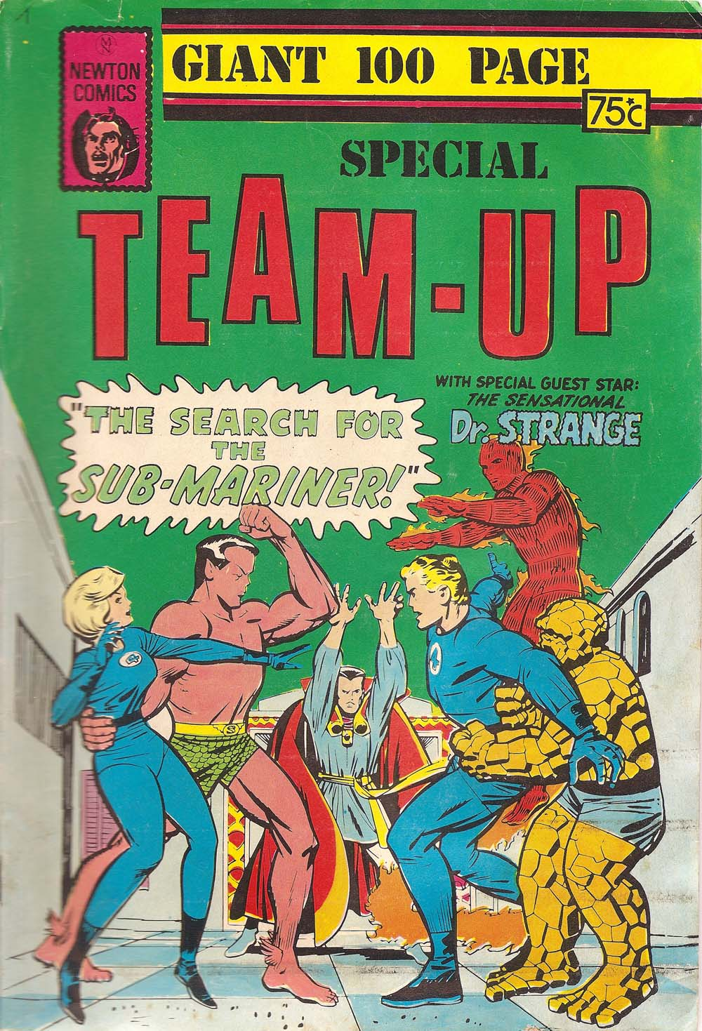 Giant 100 Page Special Team-Up