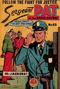 Sergeant Pat of the Radio-Patrol (Atlas, 1948 series) #53