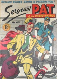 Sergeant Pat of the Radio-Patrol (Atlas, 1948 series) #42