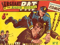 Sergeant Pat of the Radio-Patrol (Atlas, 1948 series) #2