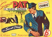 Sergeant Pat of the Radio-Patrol (Atlas, 1948 series) #3