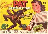 Sergeant Pat of the Radio-Patrol (Atlas, 1948 series) #5