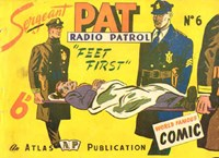 Sergeant Pat of the Radio-Patrol (Atlas, 1948 series) #6