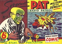 Sergeant Pat of the Radio-Patrol (Atlas, 1948 series) #7