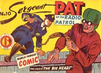 Sergeant Pat of the Radio-Patrol (Atlas, 1948 series) #10