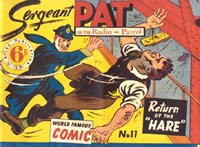 Sergeant Pat of the Radio-Patrol (Atlas, 1948 series) #11