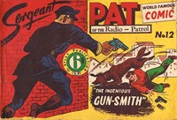 Sergeant Pat of the Radio-Patrol (Atlas, 1948 series) #12