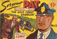 Sergeant Pat of the Radio-Patrol (Atlas, 1948 series) #13