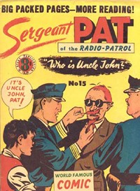 Sergeant Pat of the Radio-Patrol (Atlas, 1948 series) #15