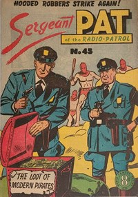 Sergeant Pat of the Radio-Patrol (Atlas, 1948 series) #45
