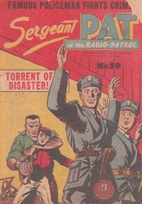 Sergeant Pat of the Radio-Patrol (Atlas, 1948 series) #59
