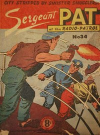 Sergeant Pat of the Radio-Patrol (Atlas, 1948 series) #34