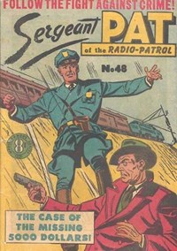Sergeant Pat of the Radio-Patrol (Atlas, 1948 series) #48