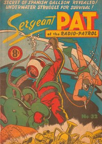 Sergeant Pat of the Radio-Patrol (Atlas, 1948 series) #32