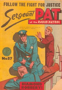 Sergeant Pat of the Radio-Patrol (Atlas, 1948 series) #57