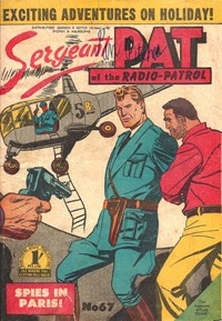 Sergeant Pat of the Radio-Patrol (Atlas, 1948 series) #67