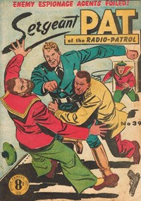 Sergeant Pat of the Radio-Patrol (Atlas, 1948 series) #39