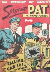 Sergeant Pat of the Radio-Patrol (Atlas, 1948 series) #46