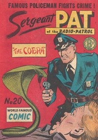Sergeant Pat of the Radio-Patrol (Atlas, 1948 series) #20